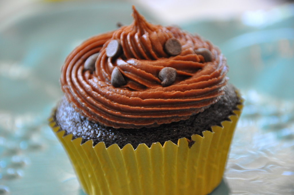 Vegan Chocolate Cupcakes with Chocolate Dairy-free Buttercream ...