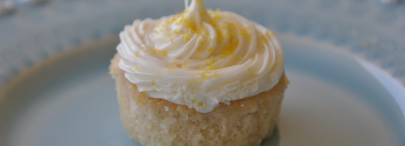 Sunshine Lemon Cupcakes